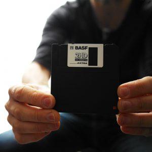 Périphérique de stockage : la disquette