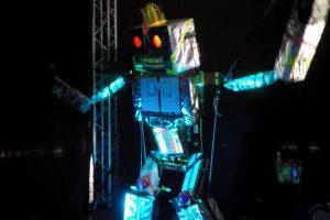 Le robot danseur de Gaetan Cieplicki