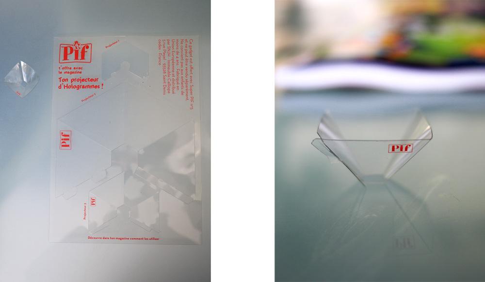 Les 3 modèles de projecteurs d'hologramme