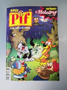 Super Pif et son gadget : l'holopif