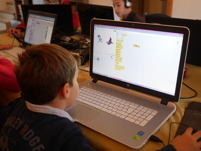 Faire des animations avec le logiciel de programmation Scratch