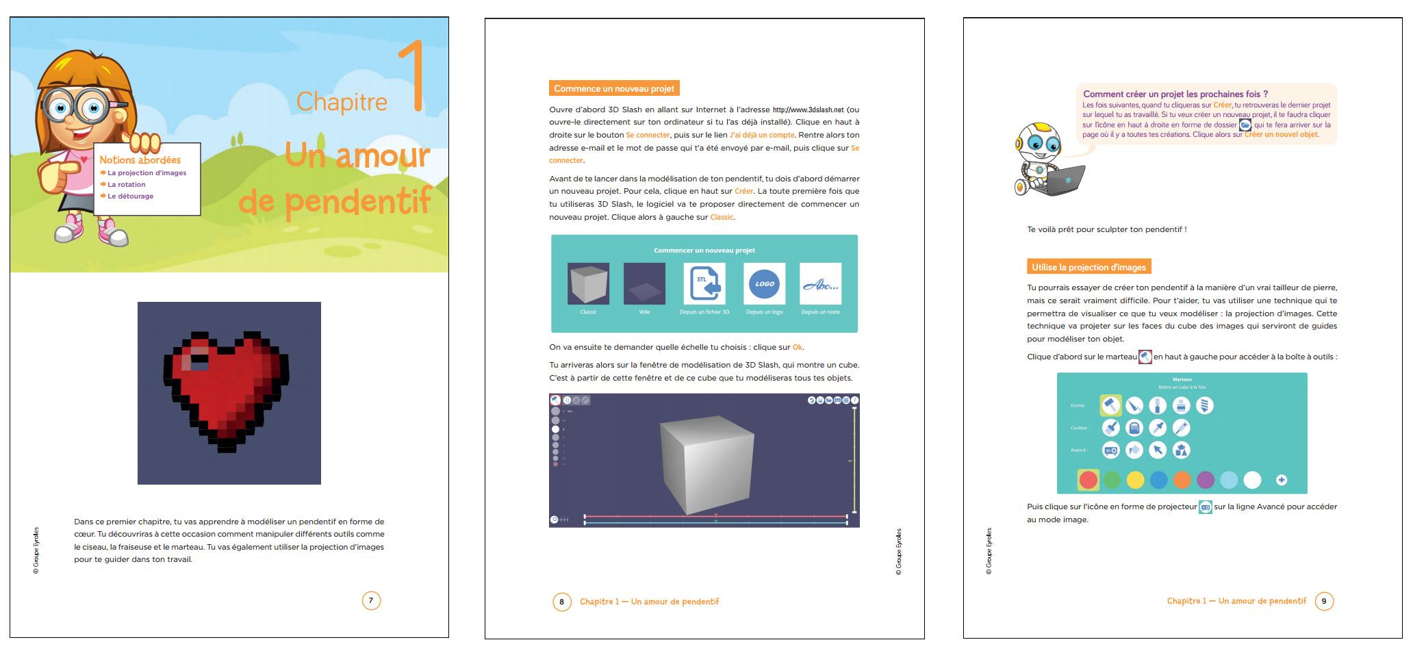 Cahier d'activités pour l'impression 3D : avis sur le livre