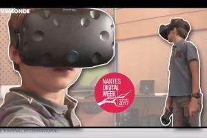 Quand des Loustics testent la réalité virtuelle (TV5 Monde)