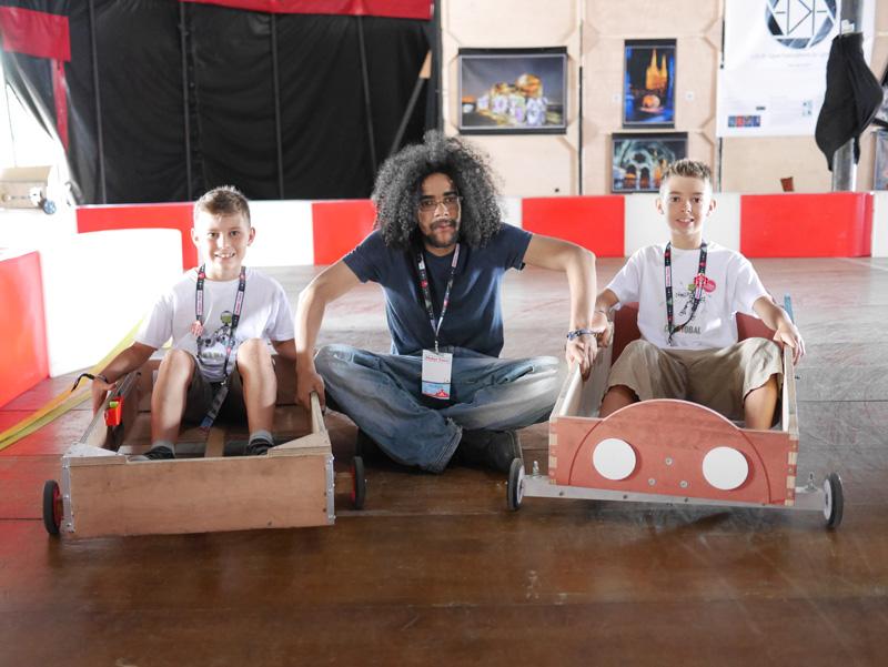Kart électrique à Maker Faire Nantes