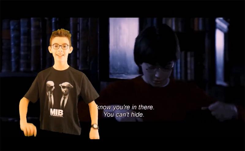 Harry Potter et la cape d'invisibilité : effet