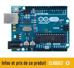 Infos et prix pour la carte Arduino Uno