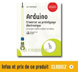 Infos et prix pour le livre Arduino aux éditions ENI
