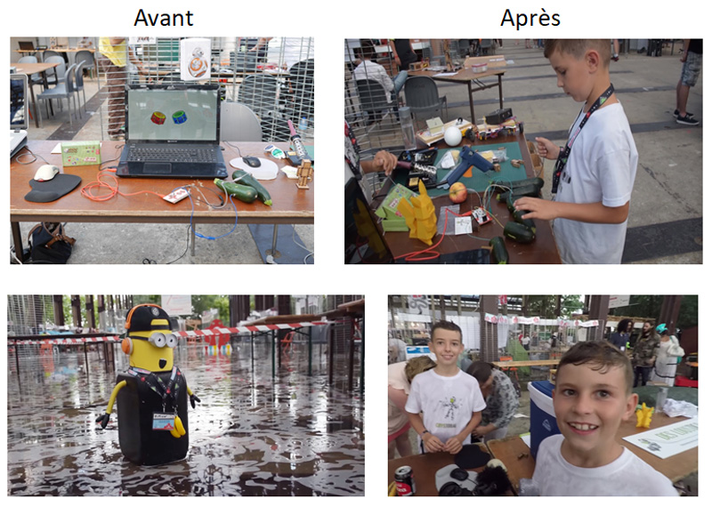 Des Loustics à Nantes Maker Faire
