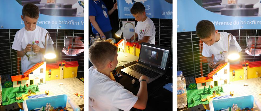 Faire des brickfilms à Maker Faire