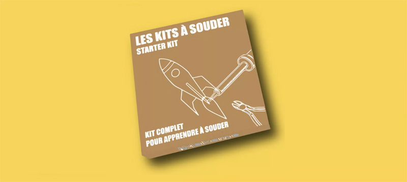 Kit à souder LED