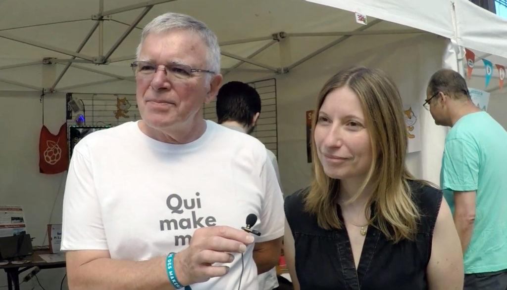 François Mocq et Sarah Lacaze