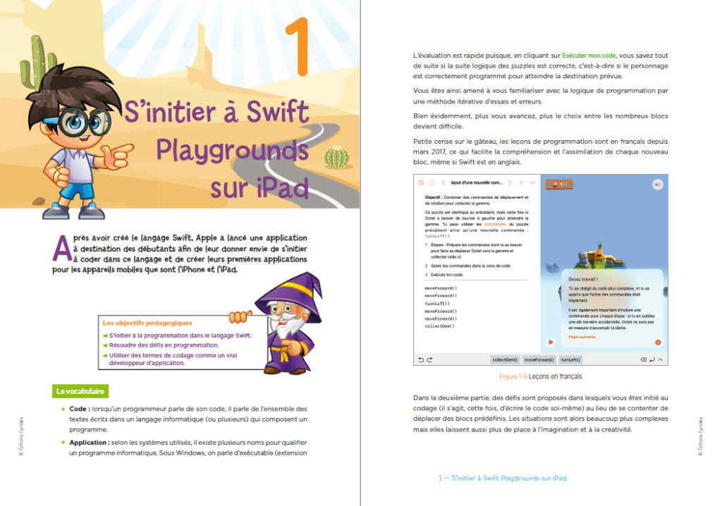Initiation à Swift Playgrounds