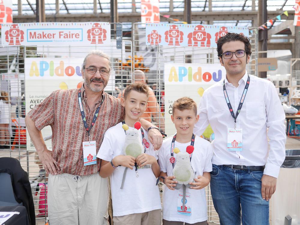 Apidou et Des Loustics à Maker Faire Nantes