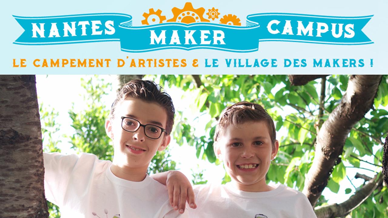 Conférence des makers Des Loustics à Nantes Maker Campus